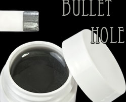 gel colorati metallici bullet hole